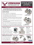 American Eagle AE-TS12 Meat Tenderizer Kit Spec Sheet