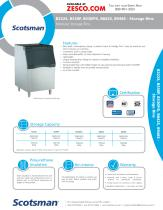 Scotsman Ice Machine Bins
