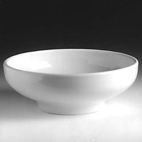 Hall China 19530awha 6 1 2 Quot Footed Salad Pasta Bowl