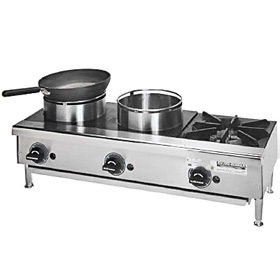 Rankin Delux ORHP336C  Three Burner Range  36quot; W  Counter Top