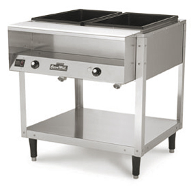Vollrath ServeWell Well Food Warmer Steam Table Hot - 2 well steam table