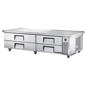TRUE MANUFACTURING Refrigerated Chef Bases
