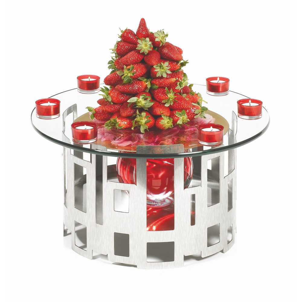 Rosseto sk round centerpiece display riser kit