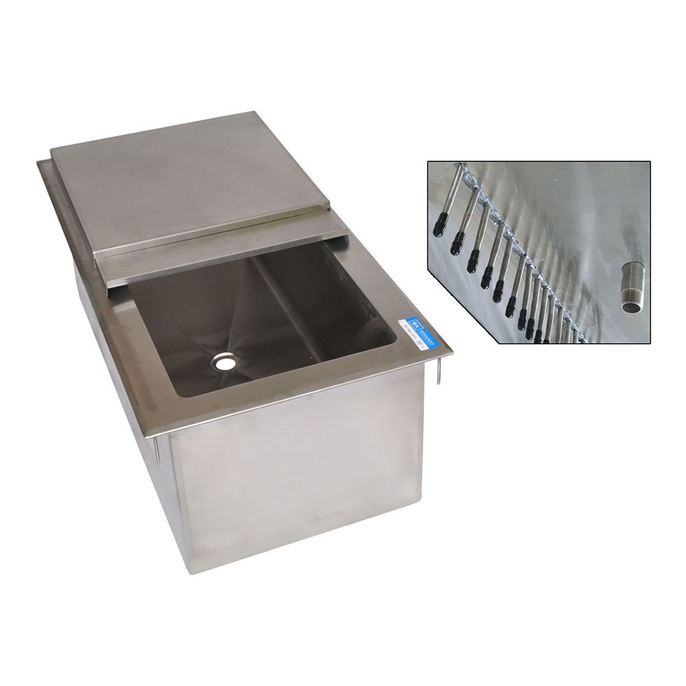 Bk Dicp8 3420 Drop In Ice Bin 34 X20 O A 8 Circuit Cold