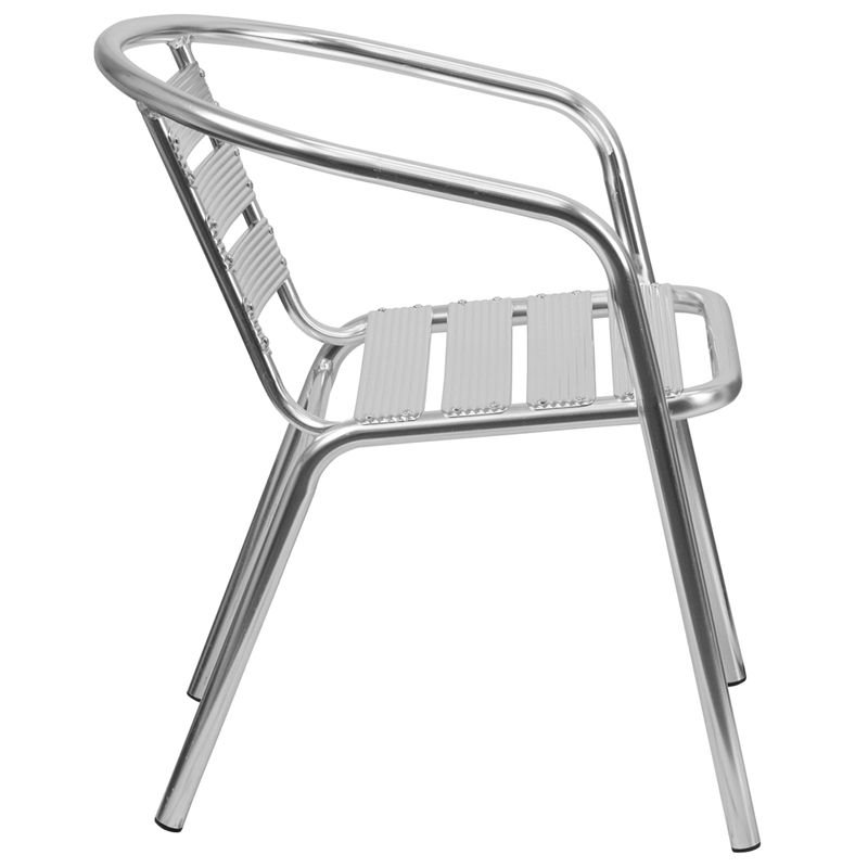... Flash Furniture TLH 1 GG Aluminum Stack Chair ...