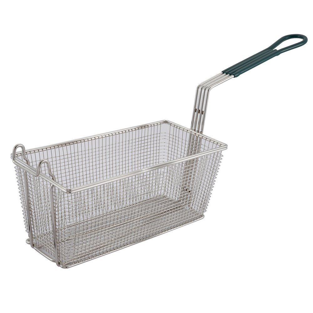 Winco Fb 30 Replacement Deep Fryer Basket Green Handle