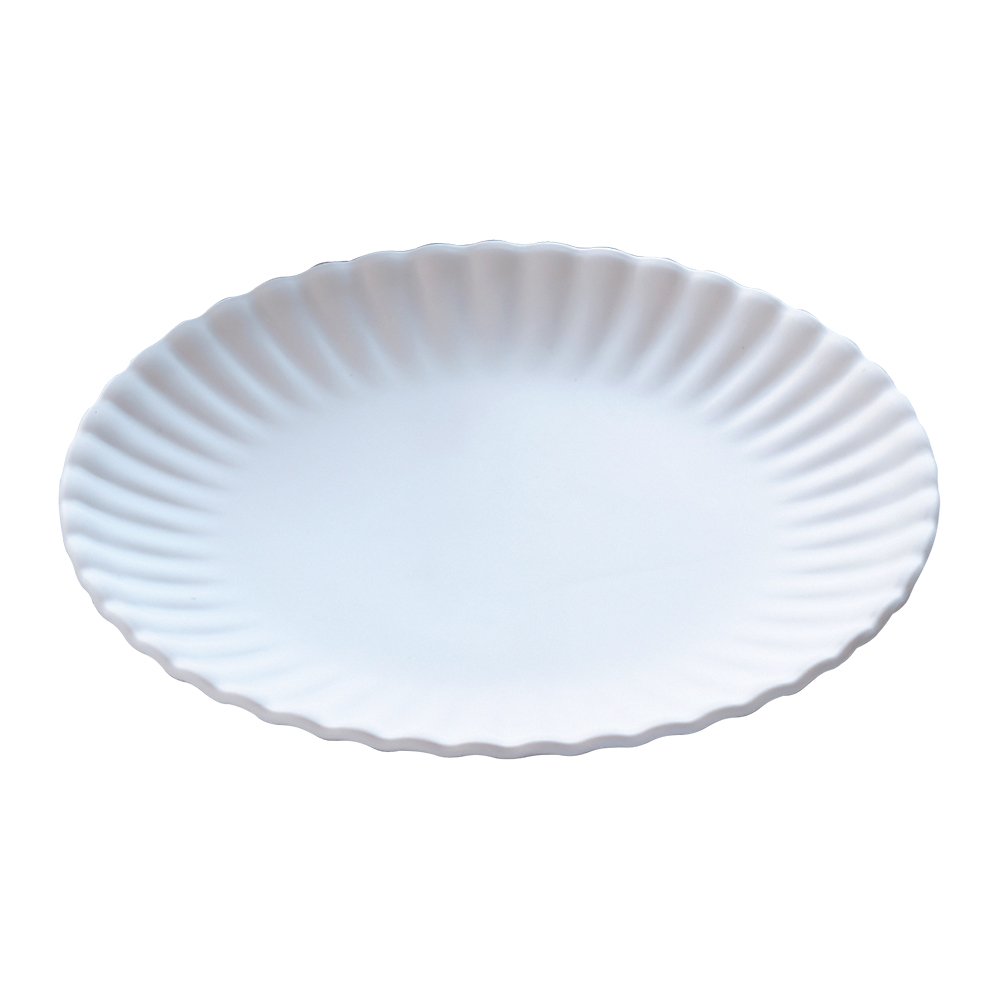American Metalcraft Mp16 16 Quot White Melamine Paper Plates