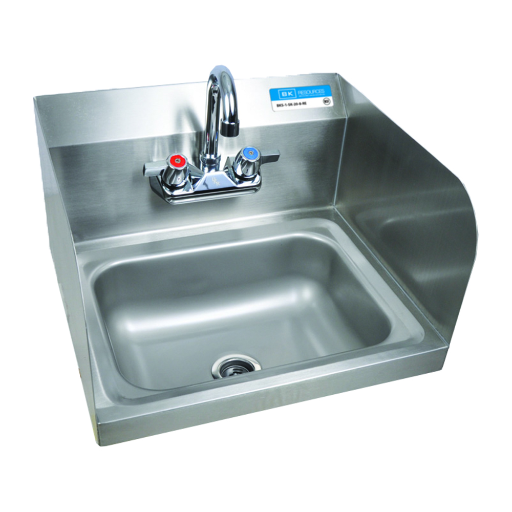 Hand Sink : ... Hand Wash Sink - Side Splash - Wall Mount - Hand Wash Sinks - ZESCO