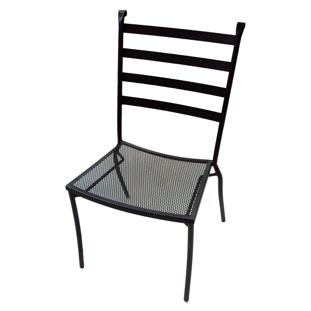 Charcoal Terrace Side Chair ...