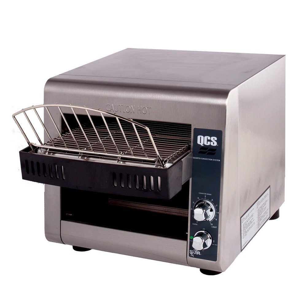 Top Loading Toaster ~ Star qcs commercial conveyor toasters