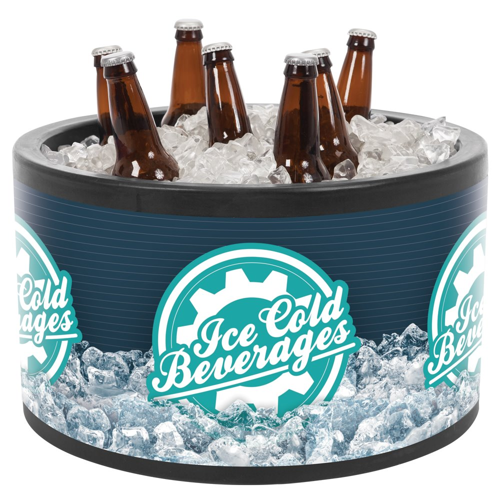 gal large buckets partyrentals in for barware ice tub us rent nyc plastic
