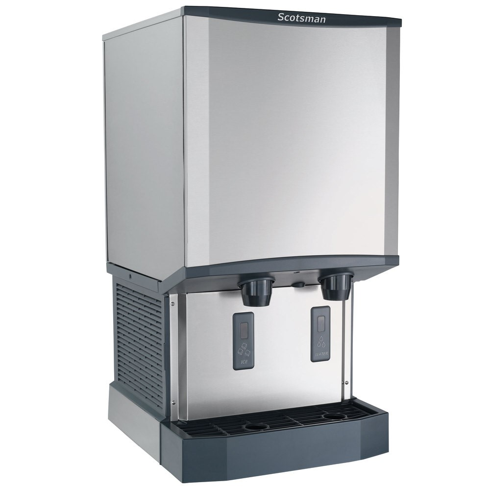 Scotsman HID540A1 Meridian Nugget Ice Maker and Water Dispenser