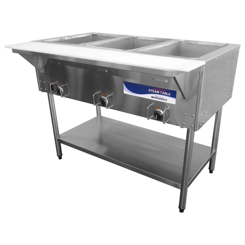 Turbo Air RSTP Hot Food Steam Table Three Wells W - 2 well steam table