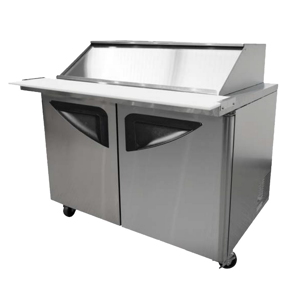 Turbo air tst 72sd 30 sl sandwich prep table sliding for Table th width not working