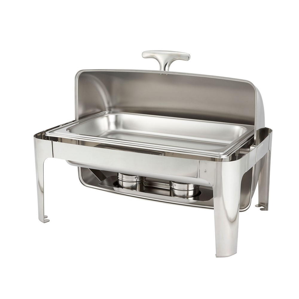 Madison Chafer Chafing Dish Roll Top Cover Winco 601