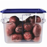Carlisle Clear Square StorPlus Food Storage Containers
