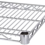 Wire Storage Shelving - Chrome