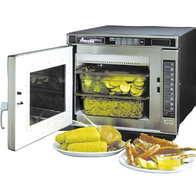 High Wattage Microwave Steamer