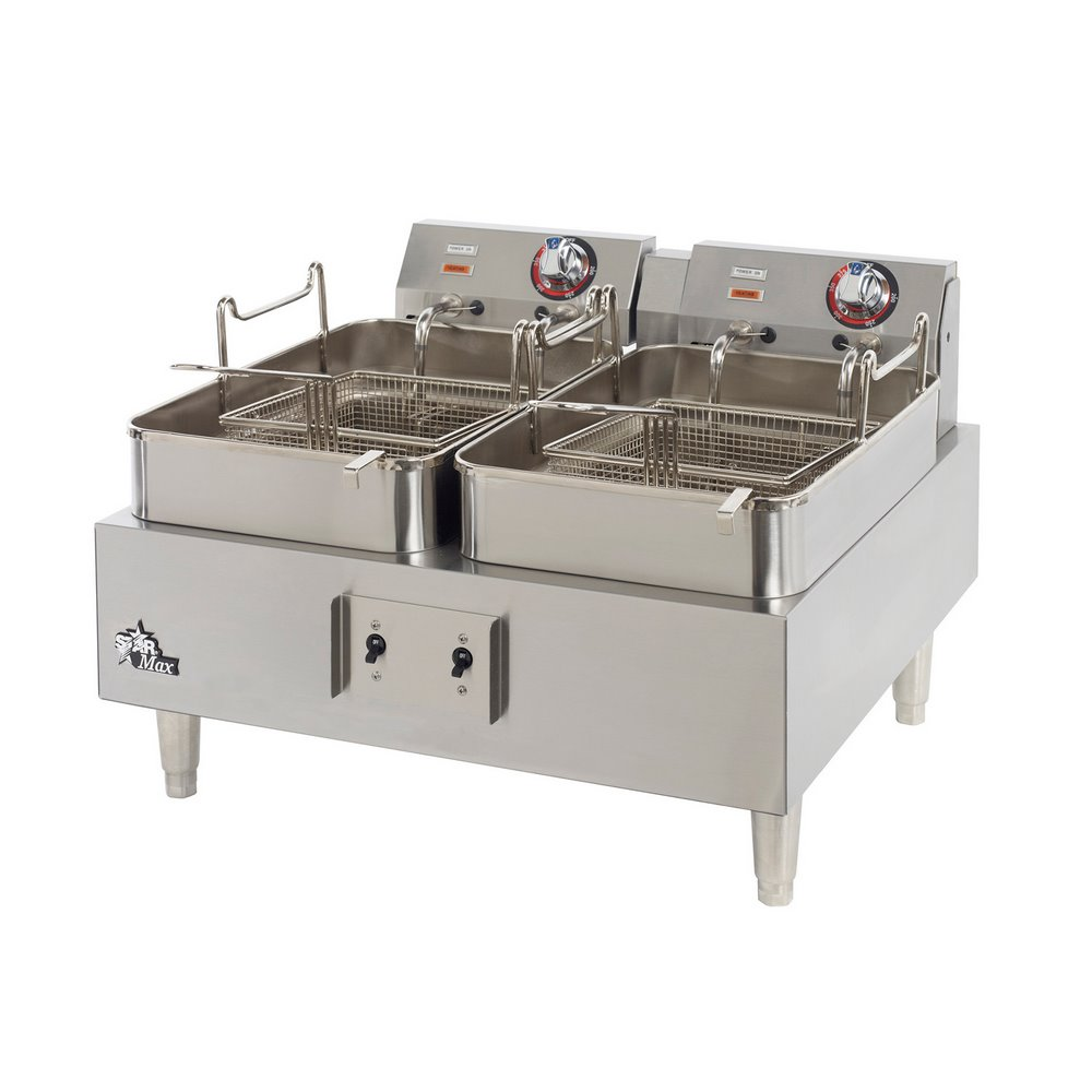 Fryer With Twin Pots